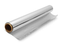 catering packaging aluminium foil paper in roll widely used in cooking, freezing, baking and storing