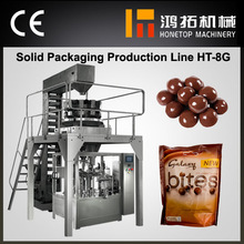Advanced automatic chocolate ball wrapping machine