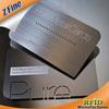 shenzhen black matte engraved etched customized metal card