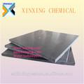Polietileno de alta densidad de plástico junta, pehd color negro hoja de extrusión