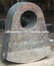 Gypsum Crusher Machine Bimetal Compound Casting Hammer Head