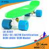 2015 manufacturers PU flashing wheel penny skateboards