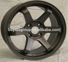 Hot selling new design car alloy wheel TE37