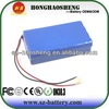 13S6P good quality battery 48v 12ah li ion battery with PCM