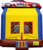 race truck inflatable jumping house,truck bouncers inflatable