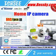720p hd wireless video home cctv camera baby monitor onvif dome p2p wifi indoor Wireless Ip Cameras