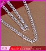 2014 Wholesale silver 925 plated stylish necklace accessories for women FN029
