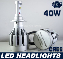 New design high power 60W cree all in one LED headlight
