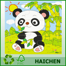 2014 new recycle paper puzzle, Cute Fairy Tale cartoon puzzle game