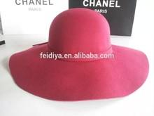 High quanlity Women wool felt hat