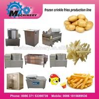 automatic frozen french fried making machine