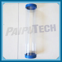 Clear Plastic Tube with Cap