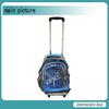 Promotional school backpacks with wheels trolley backpack bag
