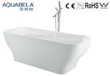 JL610 Freestanding Modern Soaking Bathtub White tubs in bathroom
