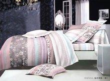 2014 New high-end elegant fashion design 120-140GSM microfiber reactive printed polyester bedsheet