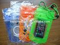 พีวีซีถุงกันน้ำโทรศัพท์มือถือราคาถูกสำหรับโปรโมชั่น