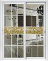 Low-e de alumínio de vidro 3 painel porta de vidro deslizante