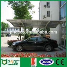 Aluminum car shelter