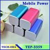 OEM Brand power banks custom logo frees sample 10400 mah 5V portable battery power pack