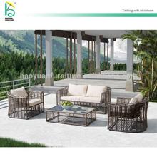 cane sofa new design waterproof patio furniture wicker outdoor setting