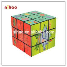 Customized colorful promotional foldable magic cube