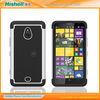Factory wholesale PC+Silicon cover for Nokia lumia 1320