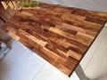 comptoir en bois acacia chine 30mm worktops acacia chine