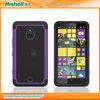 2014 wholesale PC+Silicon cover for Nokia lumia 1320