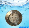 High quality stainless steel dmx512 recessed swimming pool led light
