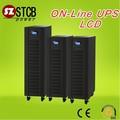 De datos en línea del sistema de asegurar tres fase sinusoidal ups kva 10( centrio dsp)