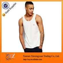 mens wholesale plain white tank top