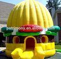 Hot vente ronde. bounce house avec toit