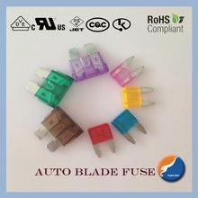 mini blade fuses(auto fuse car fuse blade mini fuse