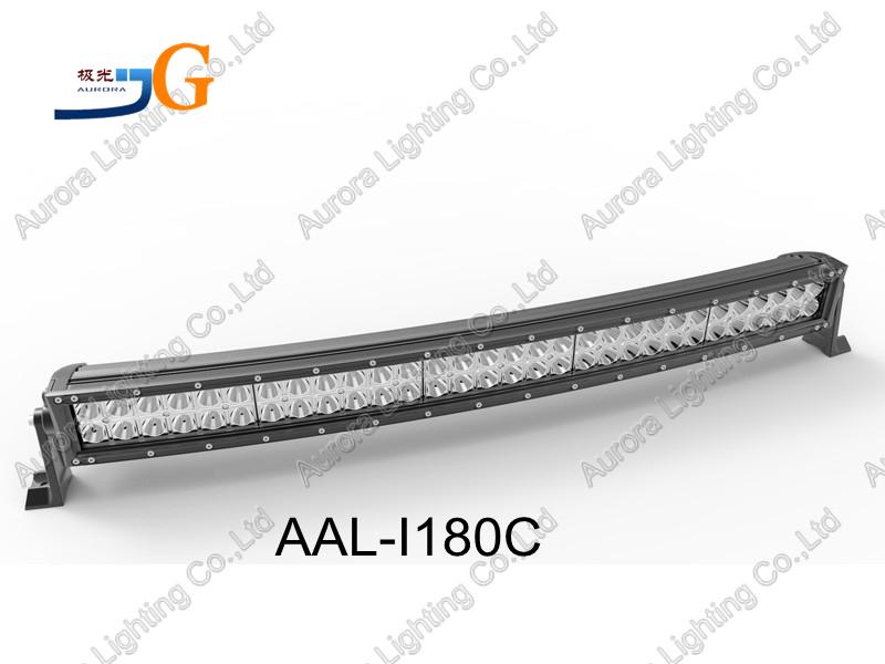 """33"""" 180W offroad römork parçaları kavisli led ışık bar kullanılan araç römork aal-i180c"""