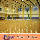 basketball court sports look wood flooring NTF-061