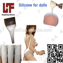 Liquid two component silicone rubber for sexy toy ROHS silicone FDA silicone rubber sexy toy rubber
