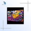 現代の抽象的な花の装飾的な油絵、 家の飾るリビングルームの壁の絵画、 的な抽象的な絵