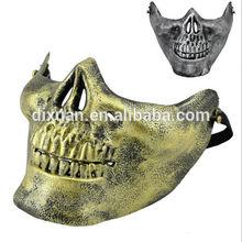 Halloween Skeleton Warrior Field CS Army fans Kito anti-terrorism field masks half face mask