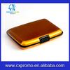 Fashion New Aluminum wallet Pocket Business Card Holder Gold