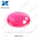 Corindo natural/pedra sintética rubi bruto/não tratada birmânia ruby