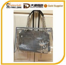 Clear PVC beach shopping fashion transparent tote bag