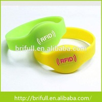 factory direct 125 khz Passive RFID Sport Silicone Wristbands