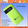2014 best price portable WCDMA+EDGE wifi portable 3g mifi modem router