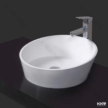 Sexy luxurious modern basin for high class hotel bathroom, acrylic stone five start bathroom basin