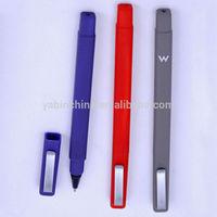 Promo Popular Fancy Design Square Plastic Ballpoint Pen