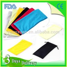 Cheap Promotional Microfiber Sunglass Bag Cheap retail pouch