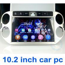 "OEM vehicle navigator car dvd gps providers OEM10.1"" for Volkswagen Tiguan"