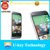 New brand high quality Love mei M8 metal frame bumper case, for htc one m8 case