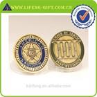 Custom Coin Necklace, Gold Silver Coin Replica