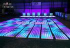 0.6m*0.6m 432leds dj lighting dance floor, disco lights led dance floor